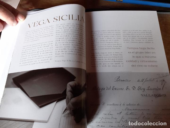 Libros: CATALOGO DE VINOS BODEGAS VEGA SICILIA (AÑO 2021) - Foto 5 - 238753110