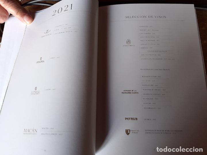 Libros: CATALOGO DE VINOS BODEGAS VEGA SICILIA (AÑO 2021) - Foto 6 - 238753110