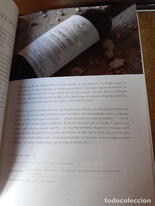 Libros: CATALOGO DE VINOS BODEGAS VEGA SICILIA (AÑO 2021) - Foto 8 - 238753110