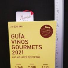 Libros: GUÍA VINOS GOURMETS 2021. 36 EDICIÓN. GRUPO GOURMETS. Lote 239937170