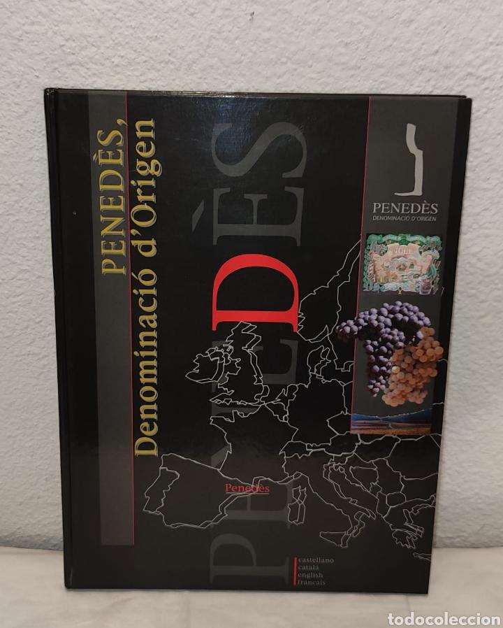 LIBRO PENEDÉS, DENOMINACIÓ D'ORIGEN 2002 32,9 X 24,7 / VINO / VINOS / VINS / VI / LLIBRE / LLIBRES (Libros Nuevos - Ocio - Vinos)