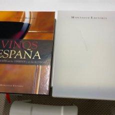 Libri: LIBRO VINOS DE ESPAÑA - JEREMY WATSON - MONTAGUD EDITORES. Lote 246798970
