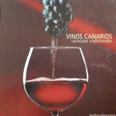 Libros: VINOS CANARIOS, VARIETALES TRADICIONALES. Lote 266875469