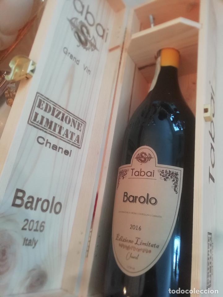 Libros: 1 magnum Barolo Tabai edizione Limited Chanel year 2016 - Foto 4 - 280237993