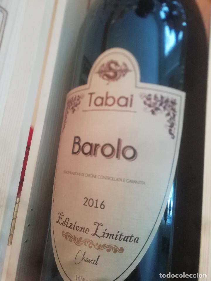 Libros: 1 magnum Barolo Tabai edizione Limited Chanel year 2016 - Foto 5 - 280237993