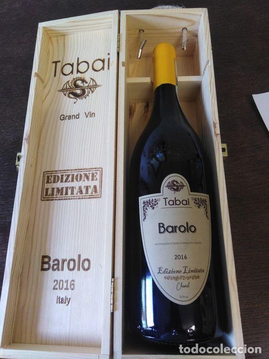 1 MAGUM BAROLO TABAI EDIZIONE LIMITED CHANEL YEAR 2016 (Libros Nuevos - Ocio - Vinos)