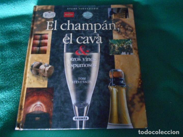 ATLAS ILUSTRADO EL CHAMPAN Y EL CAVA Y OTROS VINOS ESPUMOSOS SUSAETA (Libros Nuevos - Ocio - Vinos)