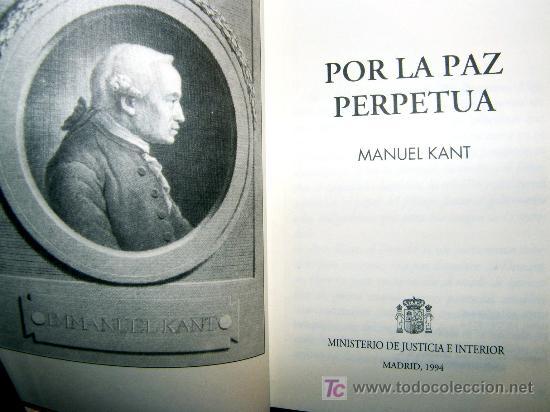 Libros POR LA PAZ PERPETUA KANT