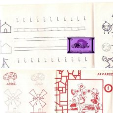 Libros: -MI CARTILLA- DE ALVAREZ Nº 1 ESCRITURA Y DIBUJO 1965. Lote 26762112