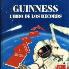 Libros: GUINNESS - LIBRO DE LOS RECORDS - EDICIONES MAEVA - 1986. Lote 24371786