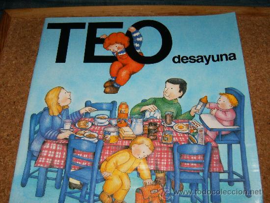 TEO DESAYUNA (Libros sin clasificar)