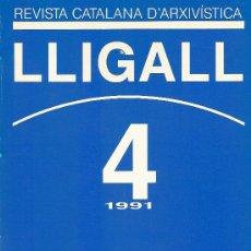 Libros: REVISTA CATALANA D'ARXIVISTICA Nº 4 AÑO 1991. Lote 14647601