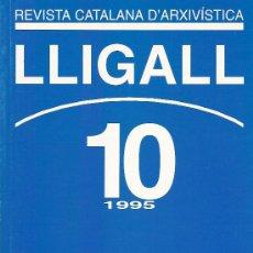 Libros: REVISTA CATALANA D'ARXIVISTICA Nº 10 AÑO 1995. Lote 15666859
