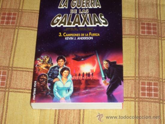 STAR WARS. CAMPEONES DE LA FUERZA. NOVELA 330 PAGS. MARTÍNEZ ROCA 1999. NUEVA Y DESCATALOGADÍSIMA!!! (Libros sin clasificar)