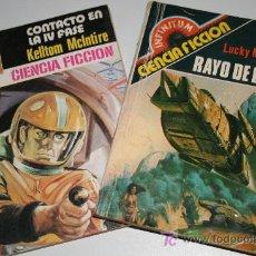 Libri di seconda mano: LOTE 2 NOVELAS BOLSILLO CIENCIA FICCIÓN.. Lote 27266099