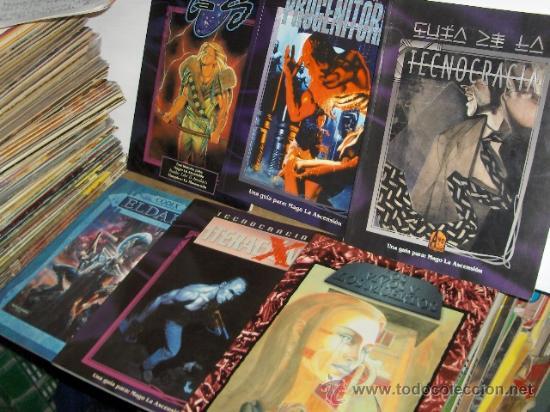 Lote De 6 Libros De Juegos De Rol Anos 90 Bue Comprar Libros Sin