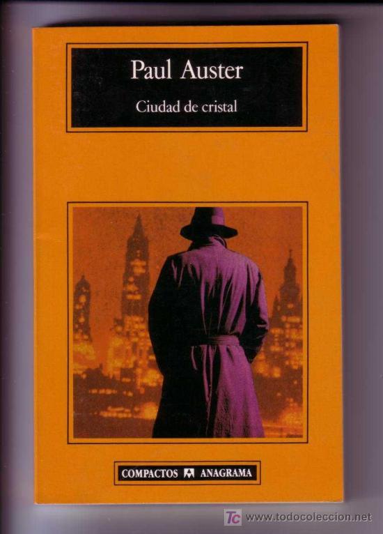 CIUDAD DE CRISTAL ISBN 8433914766 AUSTER, PAUL (Libros sin clasificar)