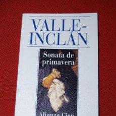 Libros: ALIANZA CIEN Nº 29 - VALLE-INCLÁN - SONATA DE PRIMAVERA. Lote 16824581