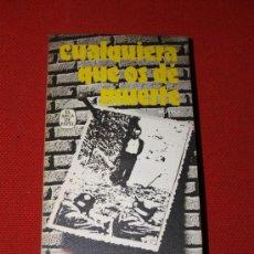 Libros: CUALQUIERA QUE OS DÉ MUERTE - CECILIA G. DE GUILARTE - PLAZA & JANES PRIMERA EDICIÓN 1977. Lote 16869794