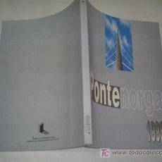 Libros: PONTENORGA Nº 0 1998 GABINETE DE ASESORAMENTO LINGÜÍSTICO DEPUTACIÓN DE PONTEVEDRA GALICIA RM43409. Lote 20783396