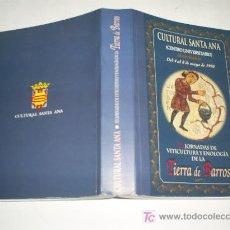 Libros: XX JORNADAS DE VITICULTURA Y ENOLOGÍA DE LA TIERRA DE BARROS 1999 AB42419. Lote 21063683