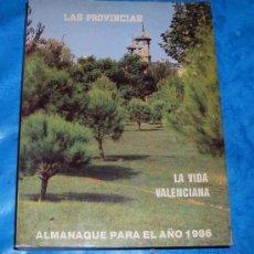 Livros em segunda mão: ALMANAQUE LAS PROVINCIAS. 1986. VALENCIA. Lote 27054523