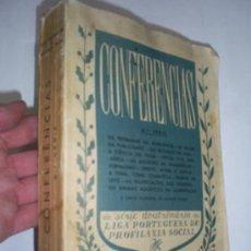 Libros: CONFERENCIAS DA SÉRIE DOUTRINÁRIA DA LIGA PORTUGUESA DE PROFILAXIA SOCIAL 6ª SERIE 1947 RM40282. Lote 27590901