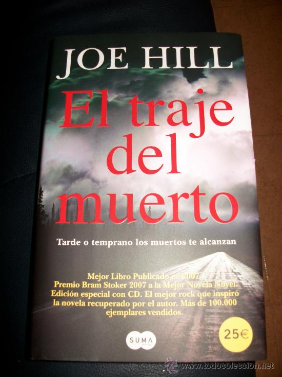 EL TRAJE DEL MUERTO - JOE HILL - INCLUYE CD CON LA BANDA SONORA - HARD ROCK HEAVY METAL - TAPA DURA (Libros sin clasificar)