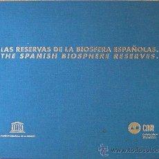 Libros: LIBRO LAS RESERVAS DE LA BIOSFERA ESPAÑOLAS, THE SPANISH BIOSPHERE RESERVES 204 P.1995 VER FOTO ADIC. Lote 35648693