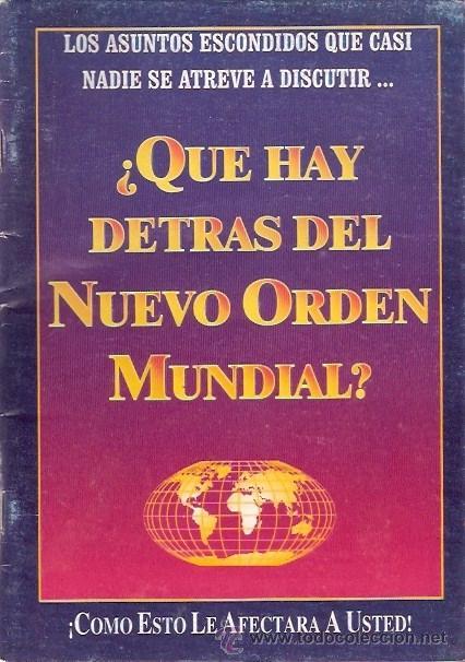 LIBRO - QUE HAY DETRAS DEL NUEVO ORDEN MUNDIAL (Libros sin clasificar)