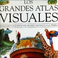 Libros: LOS GRANDES ATLAS VISUALES -DOS TOMOS GRAN FORMATO. Lote 26739669