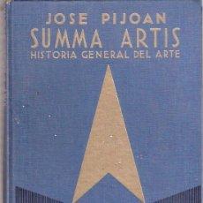 Libros: LIBRO - SUMMA ARTIS - JOSE PIJOAN - HISTORIA GENERAL DEL ARTE - VOLUMEN IV - ESPASA CALPE. Lote 25375420