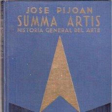 Libros: LIBRO - SUMMA ARTIS - JOSE PIJOAN - HISTORIA GENERAL DEL ARTE - VOLUMEN V - ESPASA CALPE. Lote 25375427