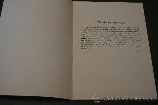 Libros: EL CATALÀ MARE DE TOTES LES LLENGÜES (HUMORADA FONÈTICA) - BIBLIOTECA POPULAR - ED. MILLA 1958 - Foto 3 - 27498895