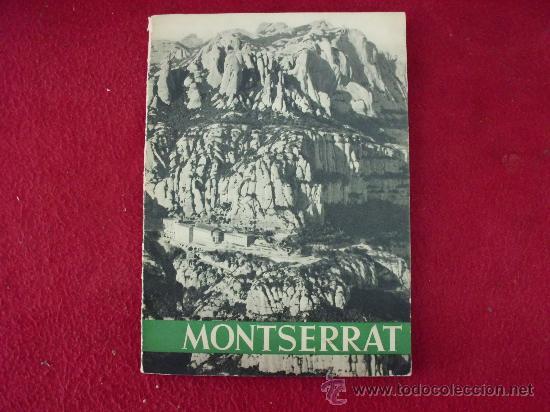 LIBRO TURÍSTICO DE MONSERRAT. AÑO 1961 108 VISTAS . L.24249 (Libros sin clasificar)