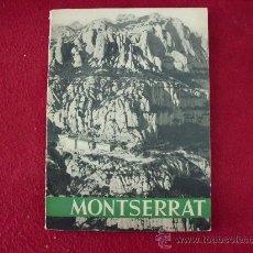 Libros: LIBRO TURÍSTICO DE MONSERRAT. AÑO 1961 108 VISTAS . L.24249. Lote 26727544