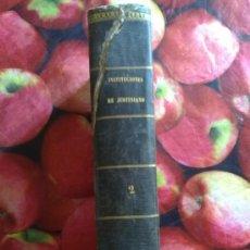 Libros: INSTITUCIONES DE JUSTINIANO. Lote 26882968