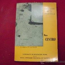 Libros: ITINERARIOS DE LA NATURALEZA, RUTA CENTRO, DIPUTACIÓN DE VALENCIA 1980. L 396. Lote 29519647