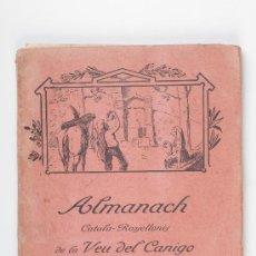 Libros: LIBRO ALMANACH CATALA - ROSSELLONES DE LA VEU DEL CANIGO, ANY III - 1923. Lote 29821669