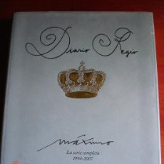 Libros: DIARIO REGIO.LA SERIE COMPLETA (1994-2007) - MÁXIMO SAN JUAN. Lote 31550775
