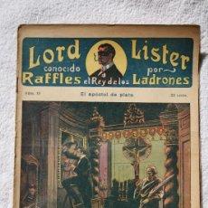 Libros: RAFFLES EL REY DE LOS LADRONES. Nº 15. EL FALSO SARGENTO DETECTIVE. EDITORIAL ATLANTE. Lote 32009400