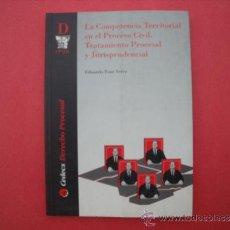 Libros: LA COMPETENCIA TERRITORIAL EN EL PROCESO CIVIL.-EDUARDO FONT SERRA.. Lote 167038709
