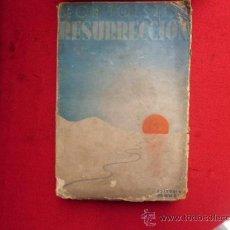Libros: LIBRO RESURECCION CONDE LEON TOLSTOY EDITORIAL MAUCCI 4º EDICION L-1422. Lote 32731766