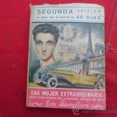 Libros: LIBRO UNA MUJER EXTRAORDINARIA, VIDA Y CONVEXION DE EVA LAVALLIERE J. Mº HERNANDEZ 2ª ED L-1985. Lote 33628759