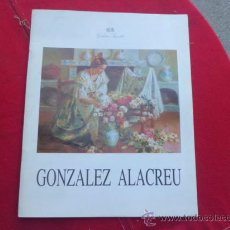 Libros: LIBRO GALERIA SEGRELLES GONZALEZ ALACREU LIBRO DE ILUSTRACIONES L-2024. Lote 33696762