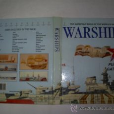 Libros: RM59162 THE GATEFOLD BOOK OF THE WORLD´S GREAT WARSHIPS. 36 SUPERB. PULL-OUT GATEFOLDS. - . Lote 33940825