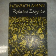 Libros: LIBRO DE HEINRICH MANN - RELATOS ESCOGIDOS - LA FONTANA MAYOR - CINCO RELATOS - 1977. Lote 36159938