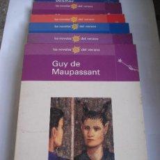 Libros: LAS NOVELAS DEL VERANO - LOTE DE 6 NOVELAS - VARIOS AUTORES - EL MUNDO. Lote 36271056
