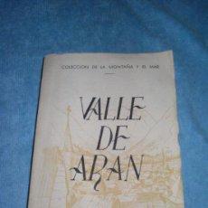 Libros: VALLE DE ARAN MANUEL CLARASO. Lote 36483246