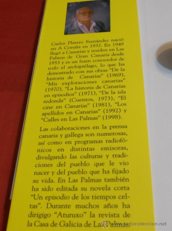 Libros: GALLEGOS EN GRAN CANARIA, CARLOS PLATERO FERNÁNDEZ - Foto 2 - 36492423